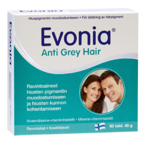 Evonia Anti Grey Hair, 60 tabl.