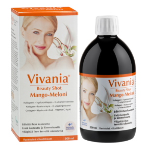 Vivania Beauty Shot mango melon, 500ml